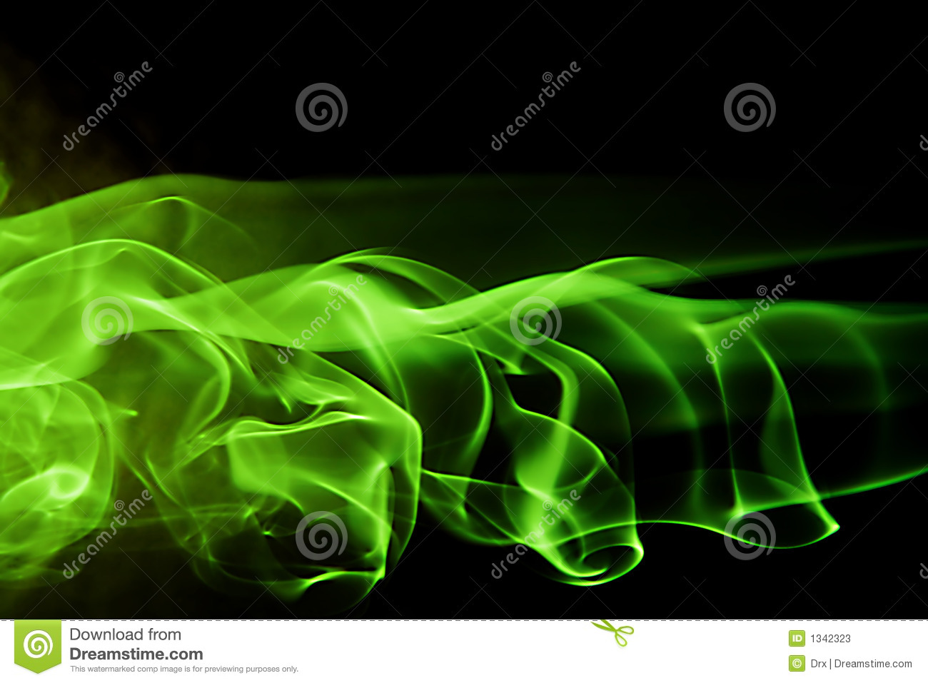 3d Smoke Wallpaper Abstract Background Shape Green Smoke Stock Photos