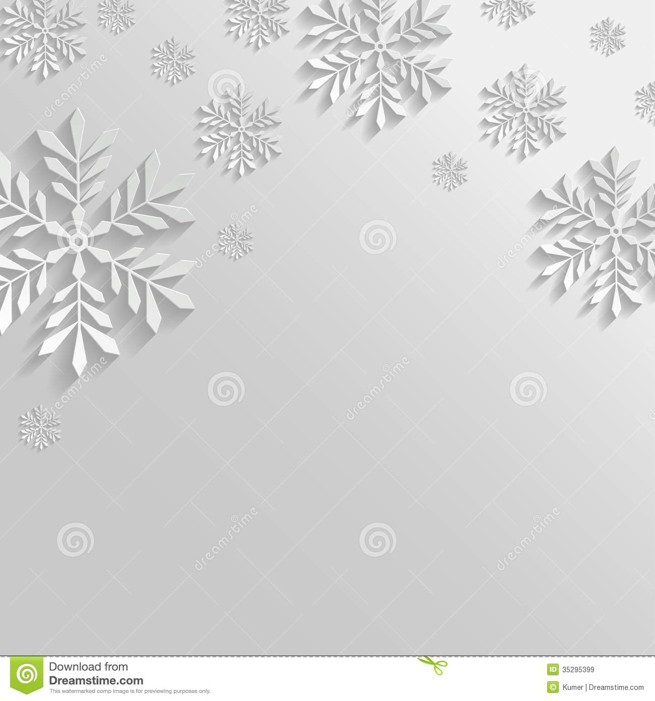 Free Christmas Falling Snow Wallpaper Abstract Background With Snowflakes Stock Vector