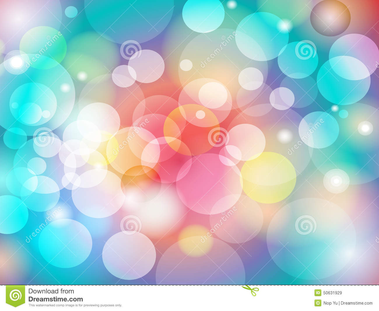 Water Fall Effect Wallpaper Abstract Colorful Blur Bokeh Background Design Stock