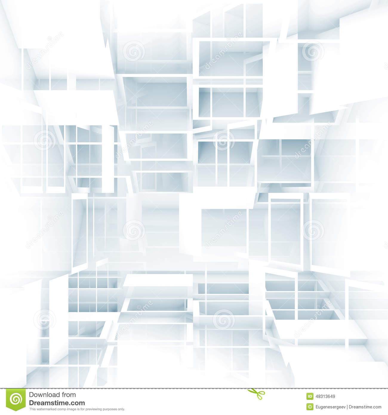 Download Free 3d Wallpapers For Windows 8 Abstract Digital 3d Background With Chaotic White Cubes