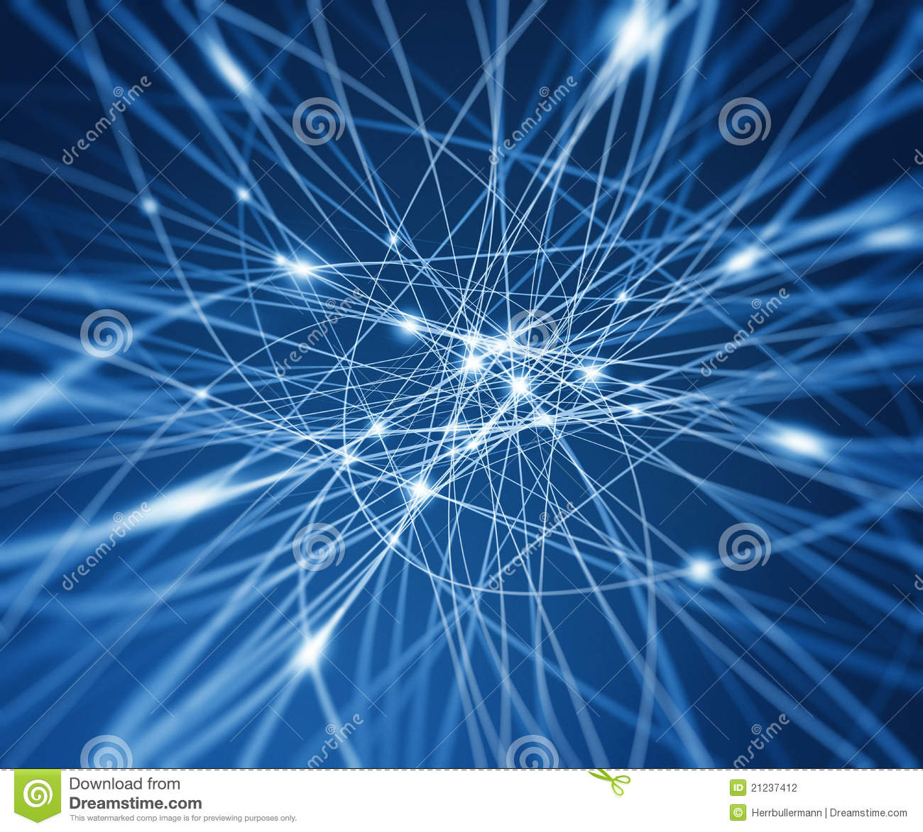 3d Wallpaper Blue Red Abstract Digital Network Stock Photography Image 21237412
