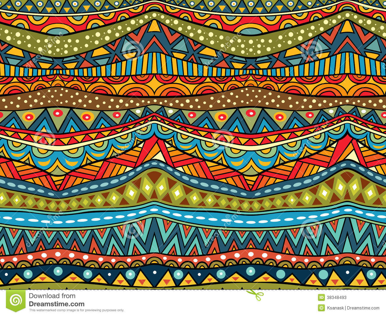Fall Patterns Wallpaper Abstract Ethnic Pattern Stock Photos Image 38348493