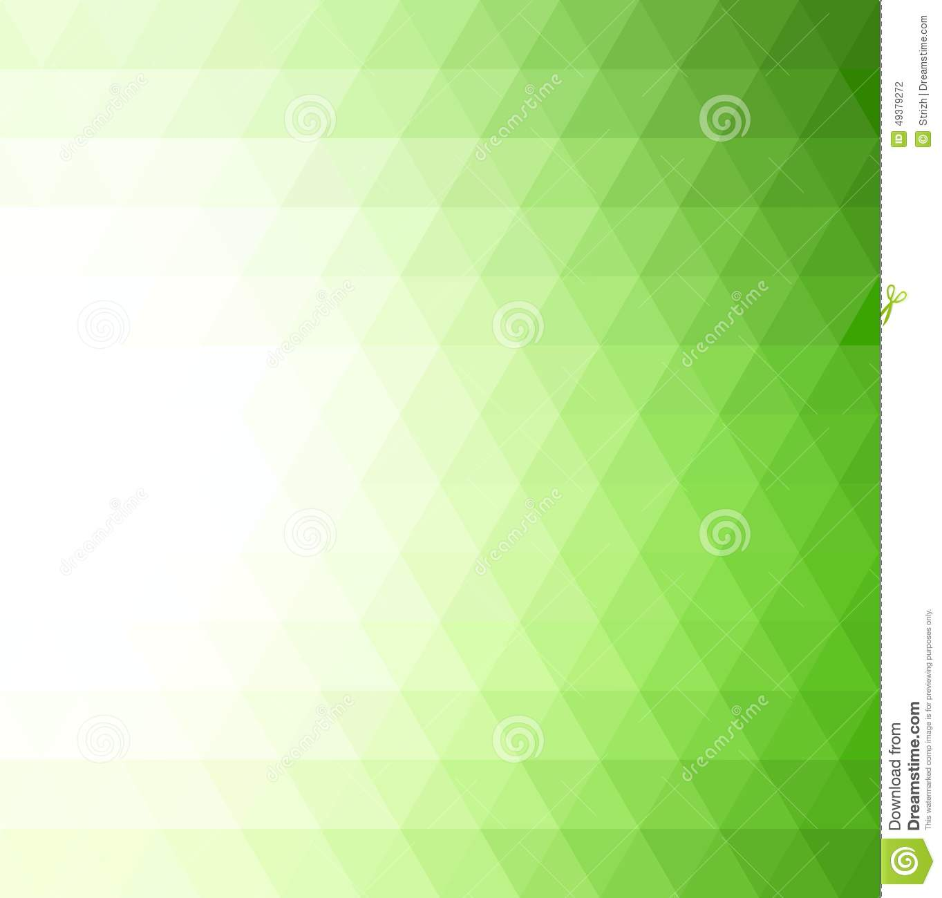 3d Animation Animals Wallpaper Abstract Green Geometric Technology Background Stock
