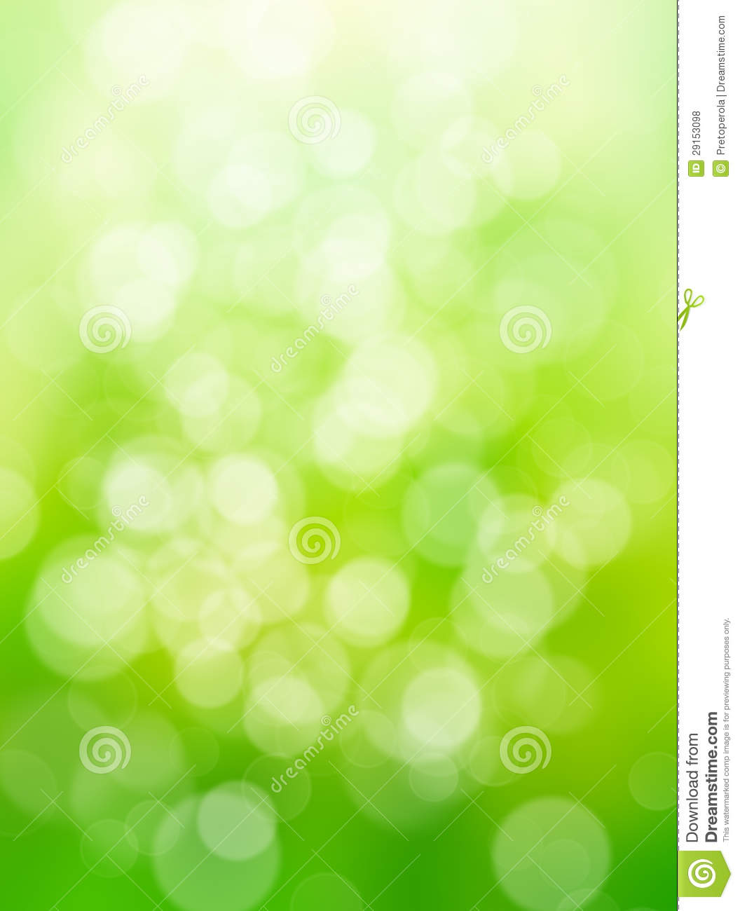 Light Effect Hd Wallpaper Abstract Green Nature Background Stock Illustration