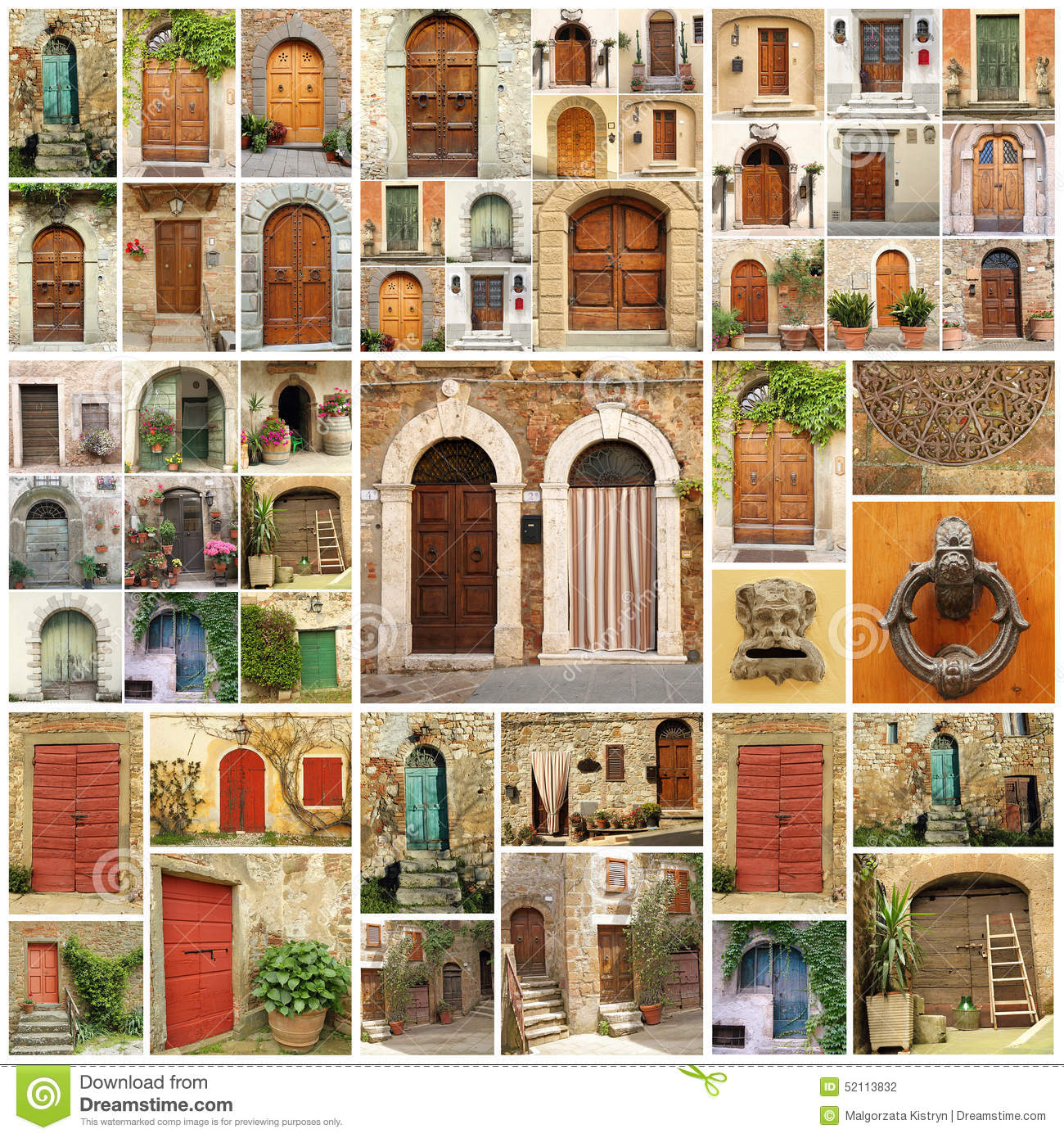 Beautiful Doors For Homes Abstract House Stock Photo Image 52113832