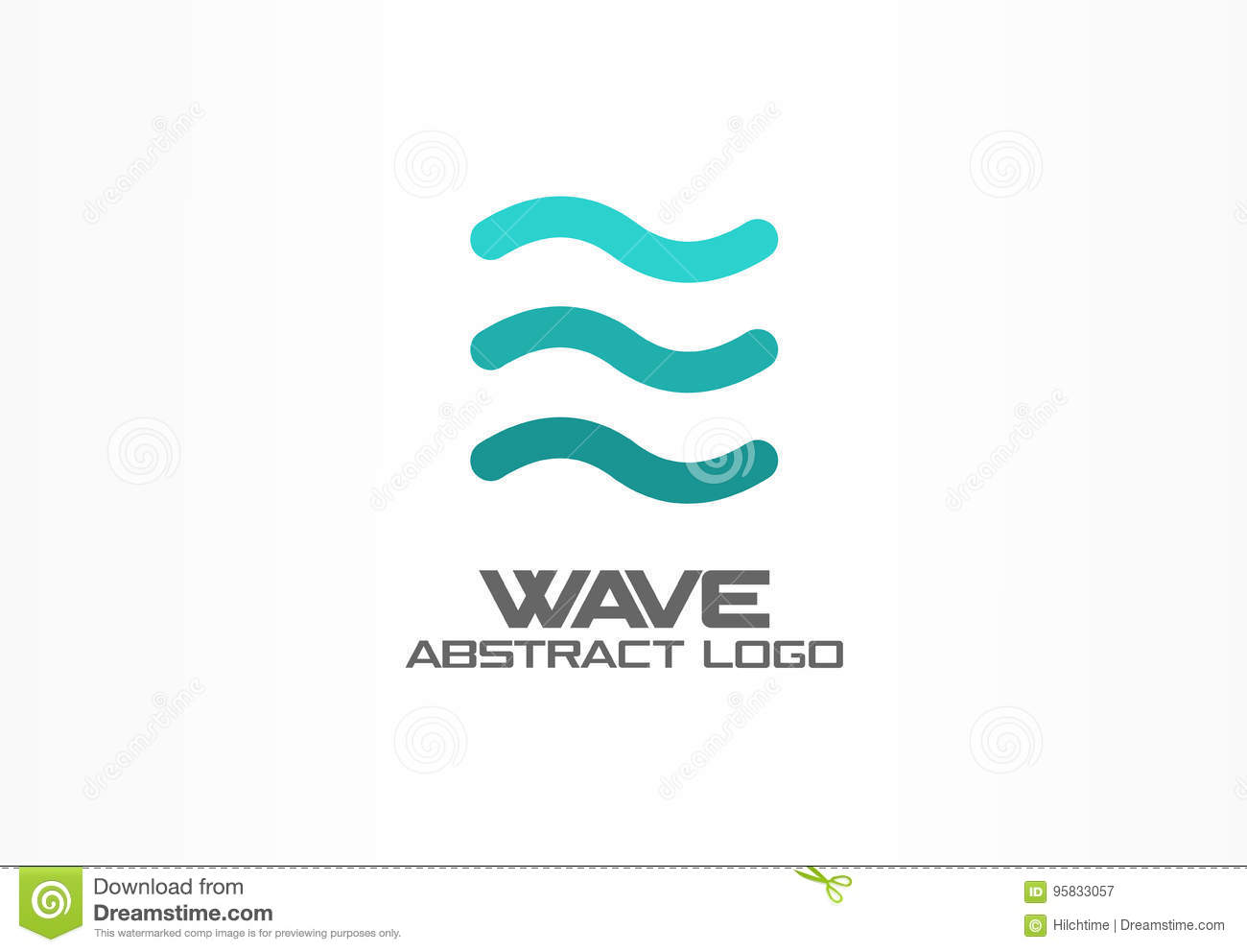 Aqua Whirlpools Abstract Logo For Business Company Eco Ocean Nature Whirlpool