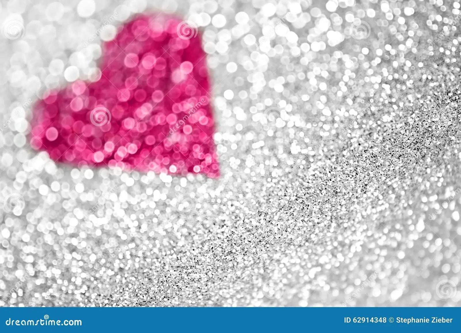 Glitter 3d Wallpaper Pink Glitter Fairy Lights Background Stock Photo Image