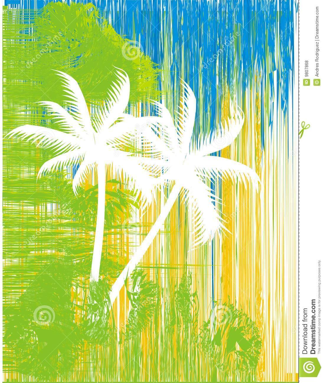 Graphic Stock Free Trial Abstract Palm Trees Stock Vector Illustration Of
