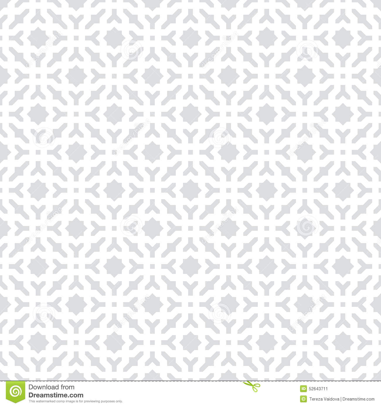 Grey And White Pattern Abstract Seamless Decorative Geometric Light Gray And White
