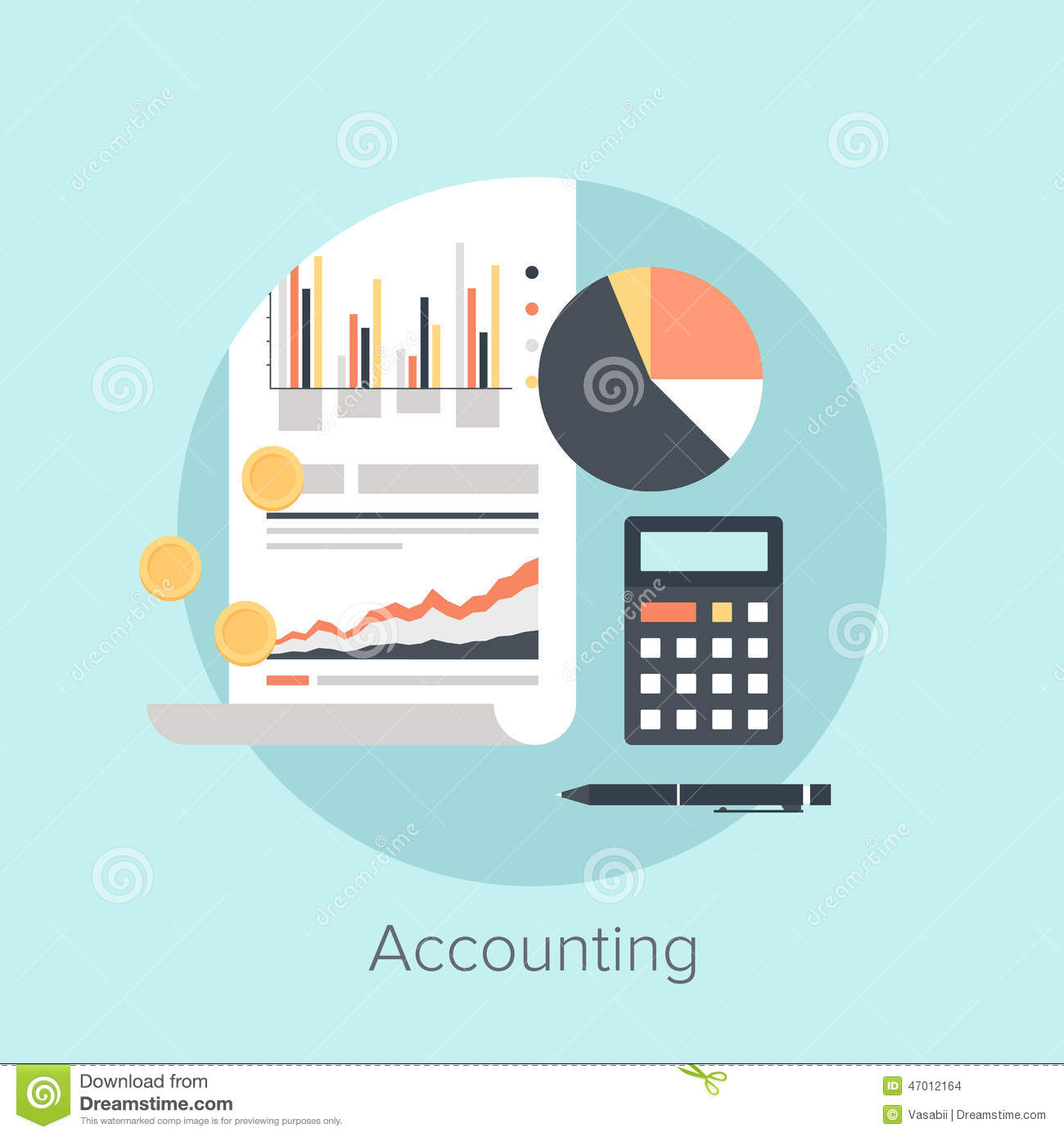 Business Plan Financial Calculatorprojected Balance Sheet Accounting Stock Photo Image 47012164