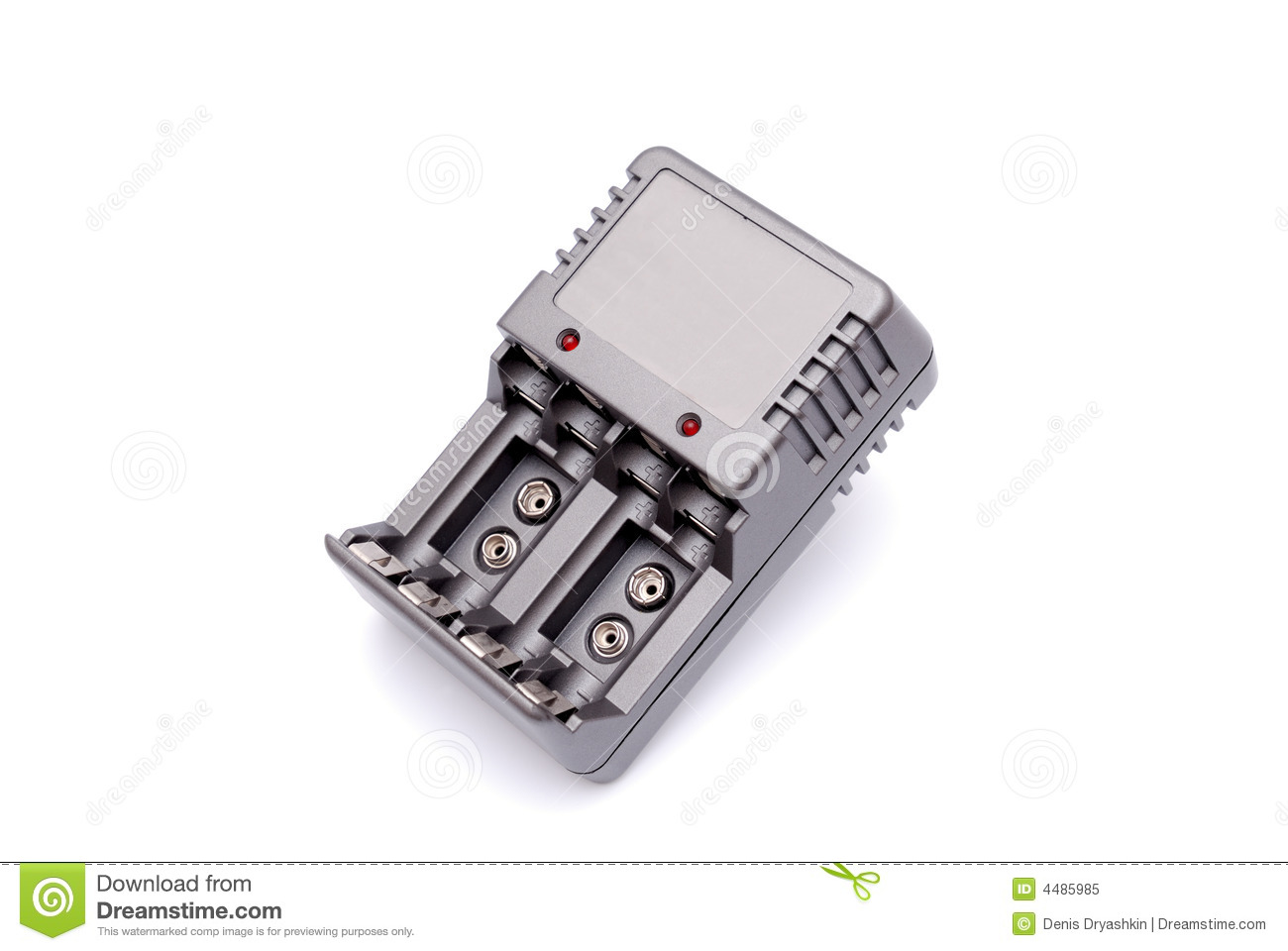 Accu Batterien Accu Battery Charger Rechargeable Stock Image Image Of