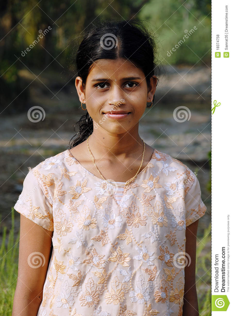 Indian Girl Wallpaper Free Download Adolescents Girl In Rural India Editorial Stock Photo