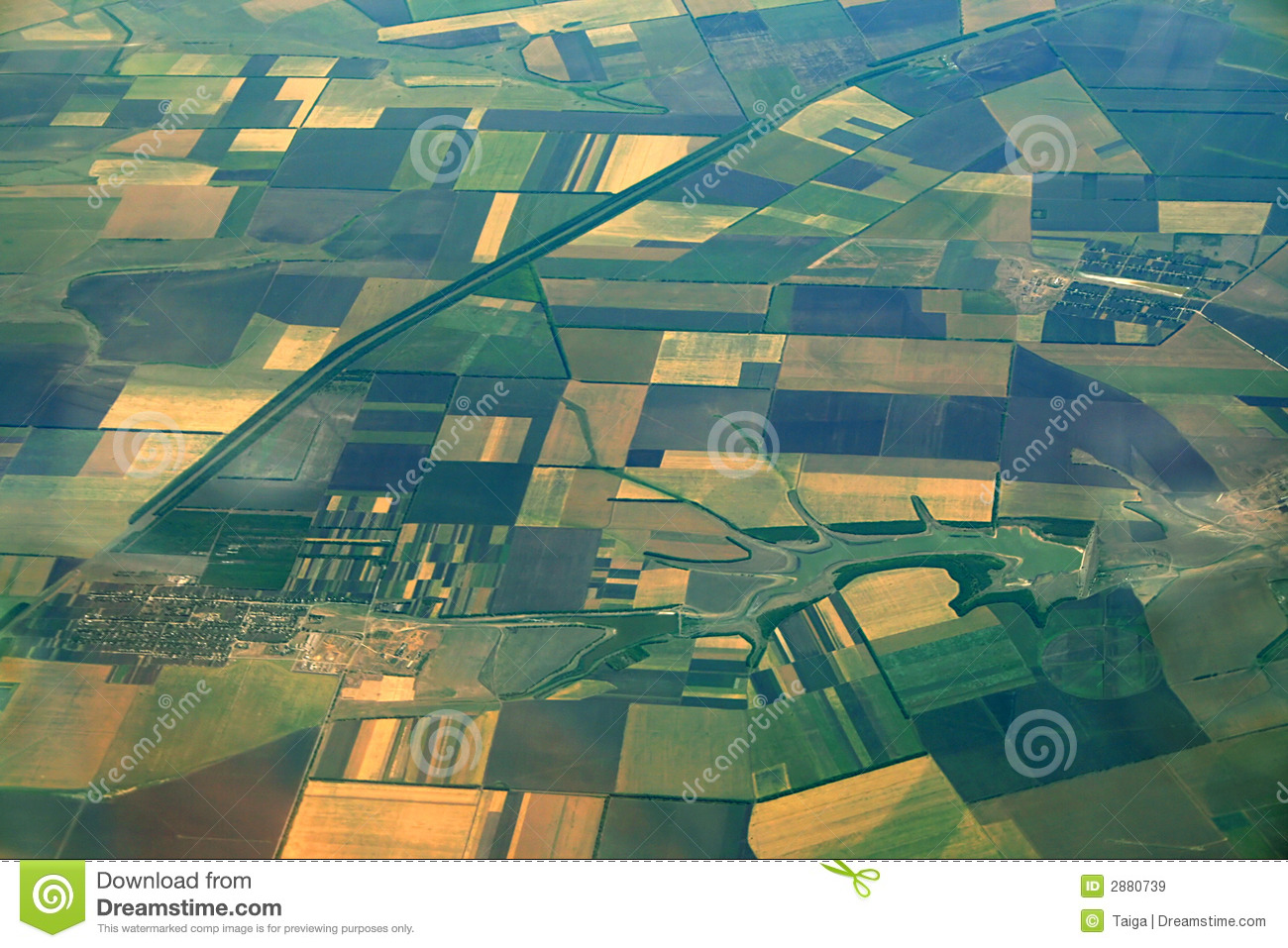 Clipart Pictures Iceberg Aerial View Of Farmlands Royalty Free Stock Images Image