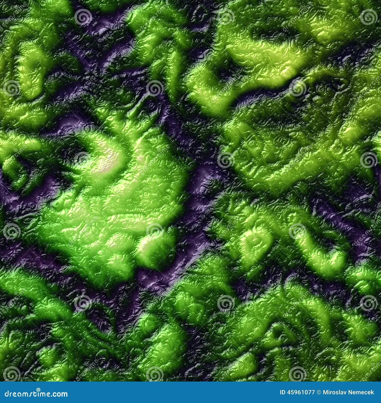 Green Animal Print Wallpaper Alien Skin Organic Seamless Generated Hires Texture Stock