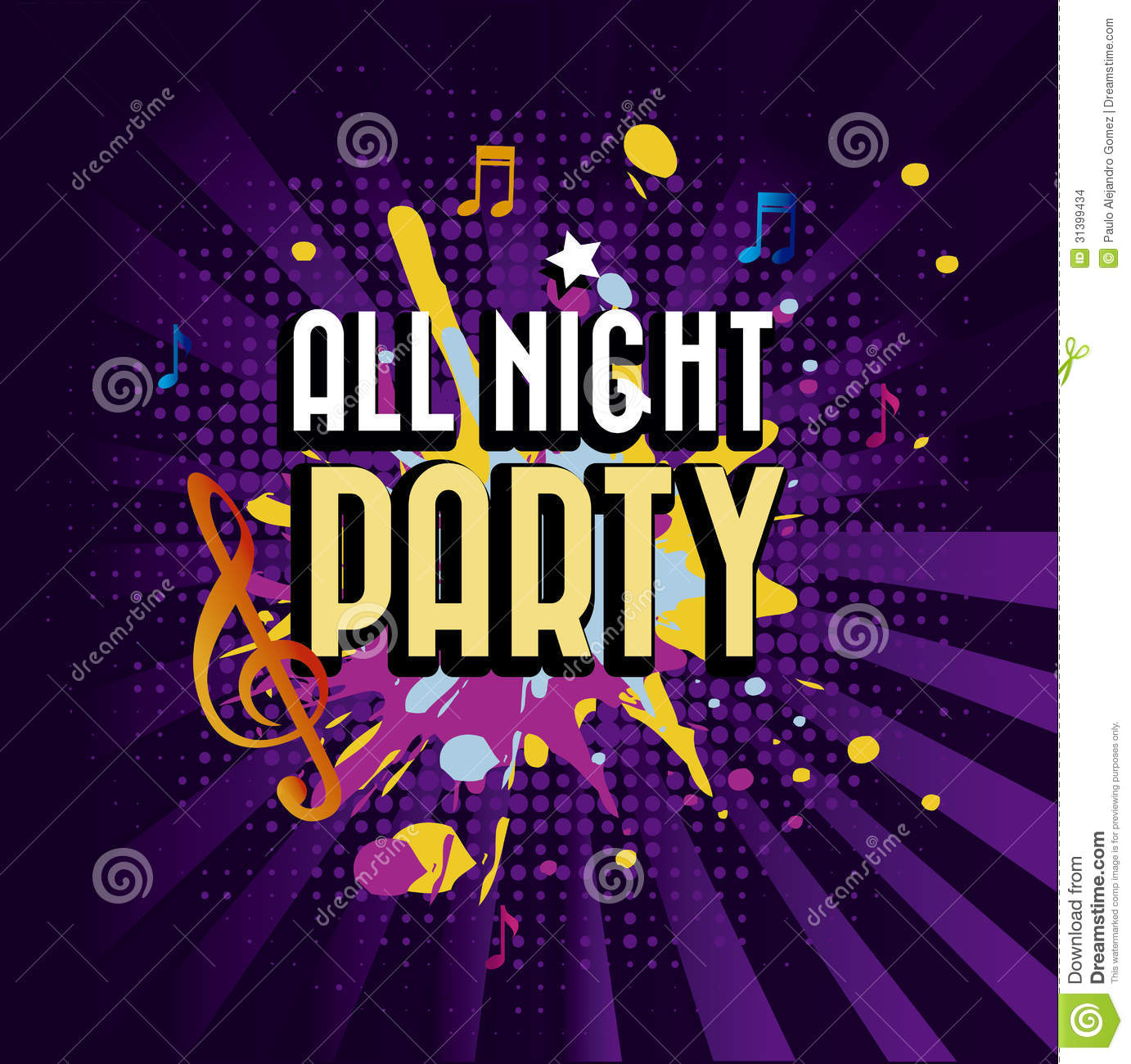 Best 3d Wallpaper Download App All Night Party Stock Images Image 31399434