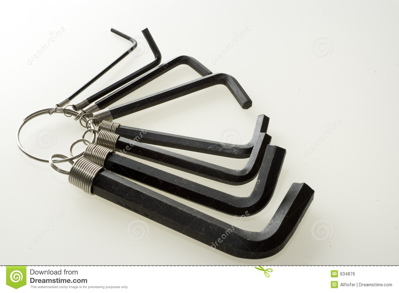 Engelse Inbussleutels Allen Wrenches Royalty Free Stock Image Image 634876