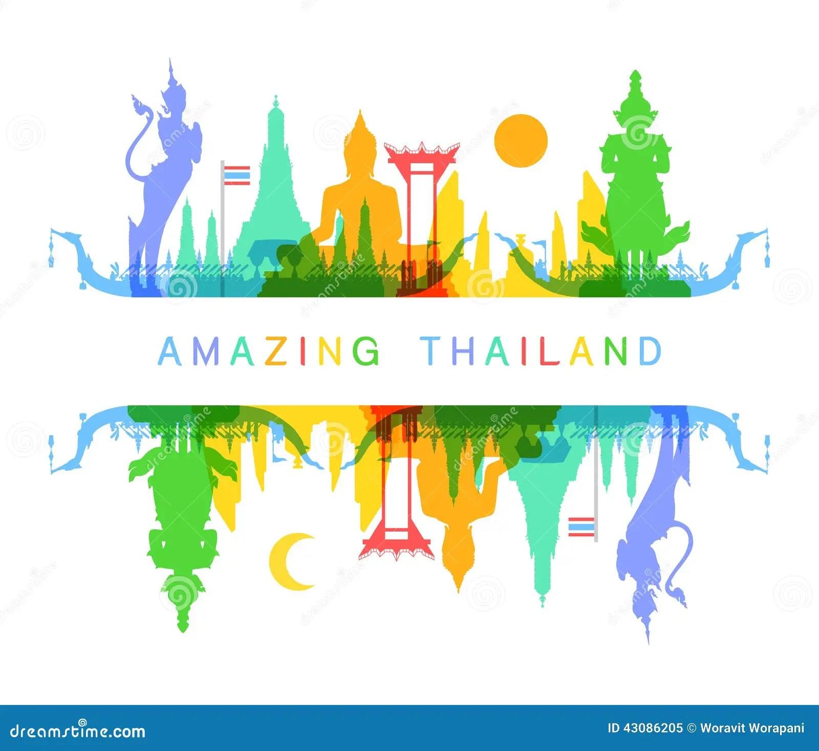 Ravan 3d Wallpaper Amazing Thailand Stock Vector Image 43086205