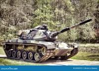 Amerikanische M60 Patton Kampf-Armee-Hauptpanzer Stockbild ...
