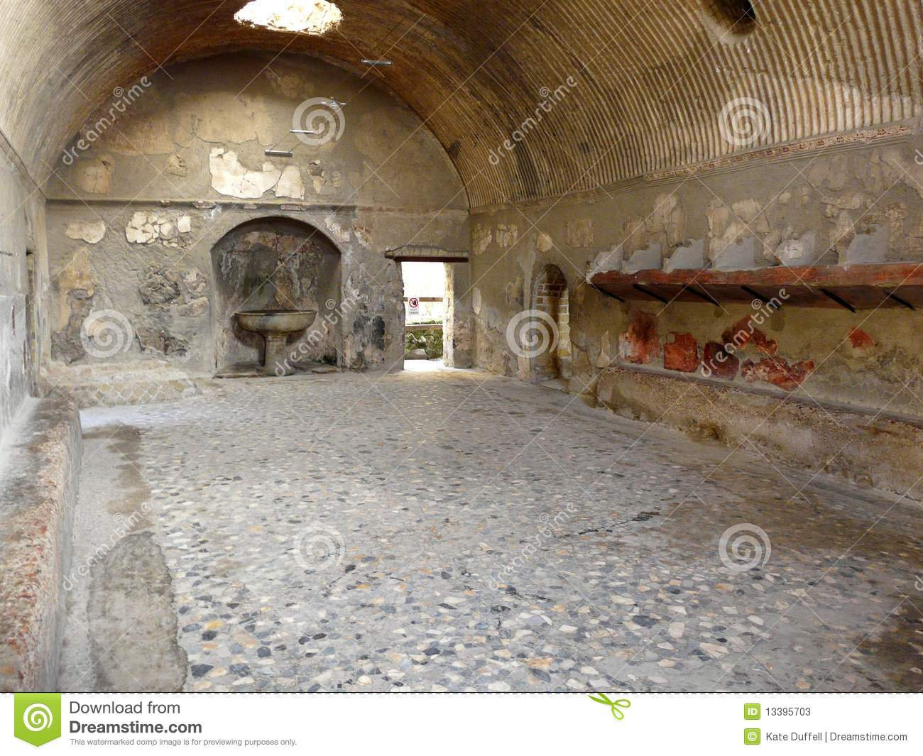 Videos Baños Publicos Gay Ancient Public Baths At The Ancient Roman C Stock Image