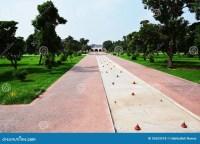 Ancient Shalimar Garden Lahore - Pakistan Royalty Free ...