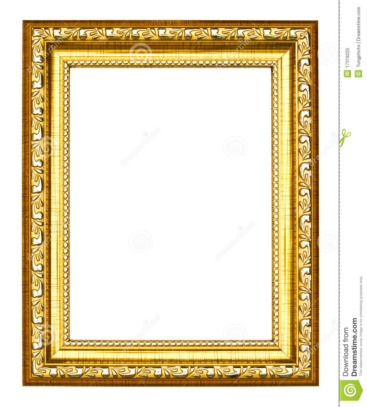 Silver Photo Frames Australia Ancient Style Golden Photo Image Frame Royalty Free Stock