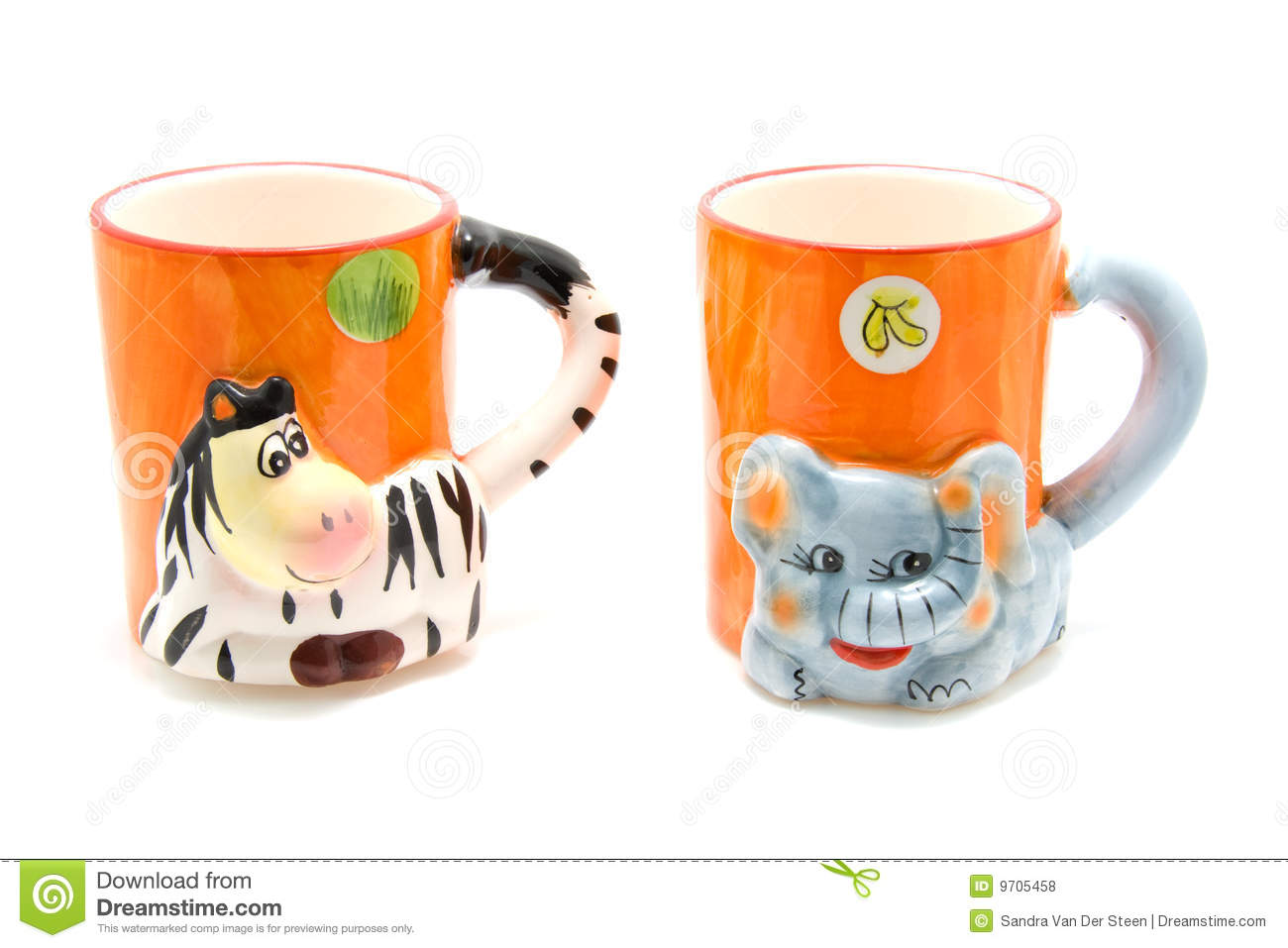 Animal Coffee Mug Animal Mugs Stock Photo Image Of Breakfast Elephant