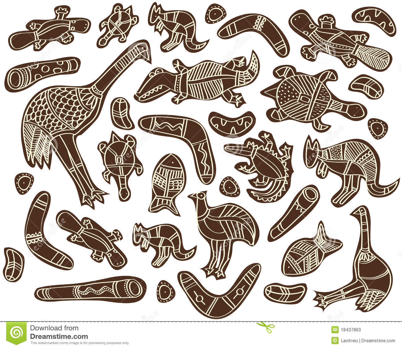 Australian Animals Drawings Aboriginal Pictures Of Animals Zoray Ayodhya Co