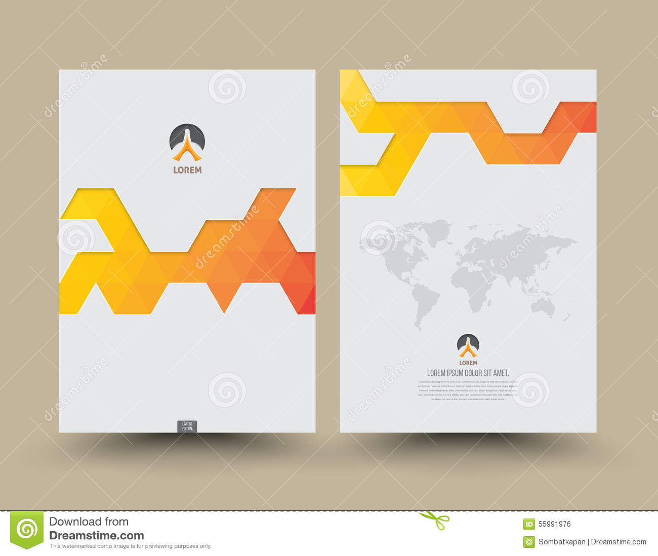 Annual Report Cover Template – Annual Report Cover Page Template