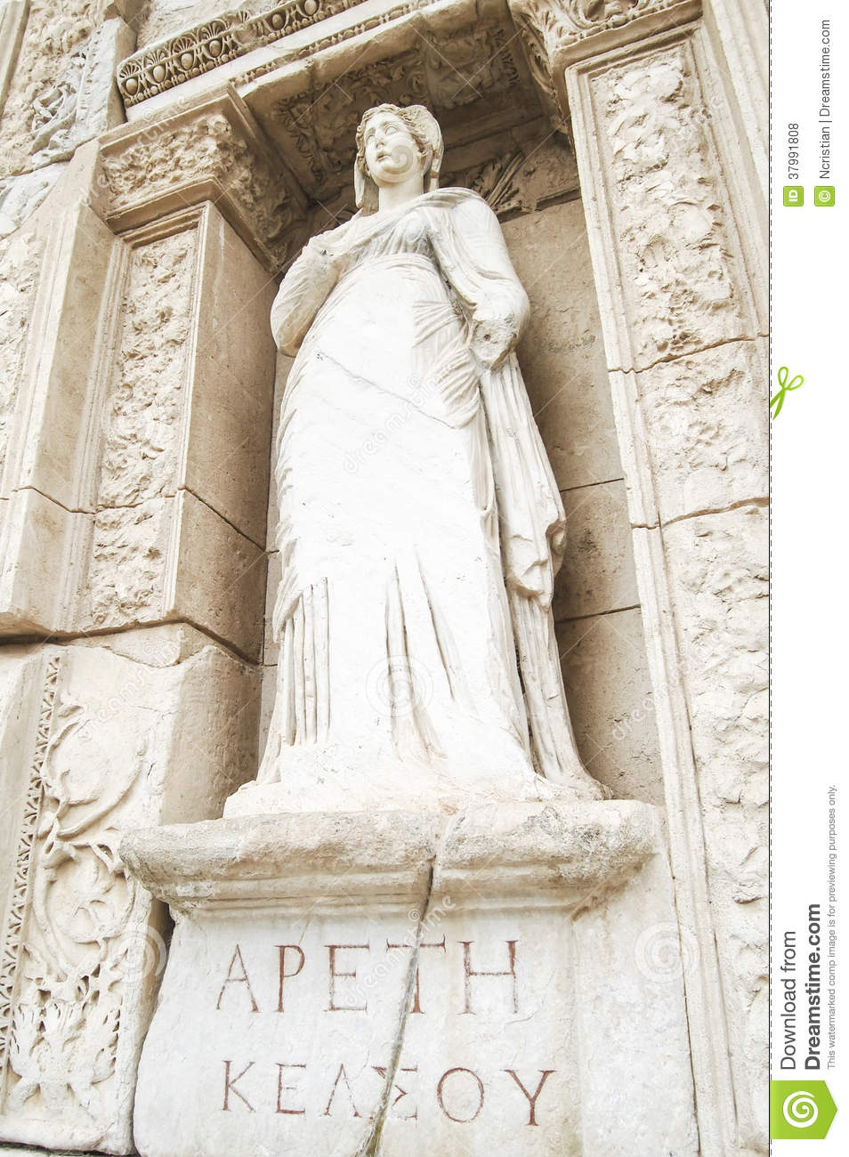 Arete From Greek Apeth Greek For Arete The Statue Representing Virtue The Site