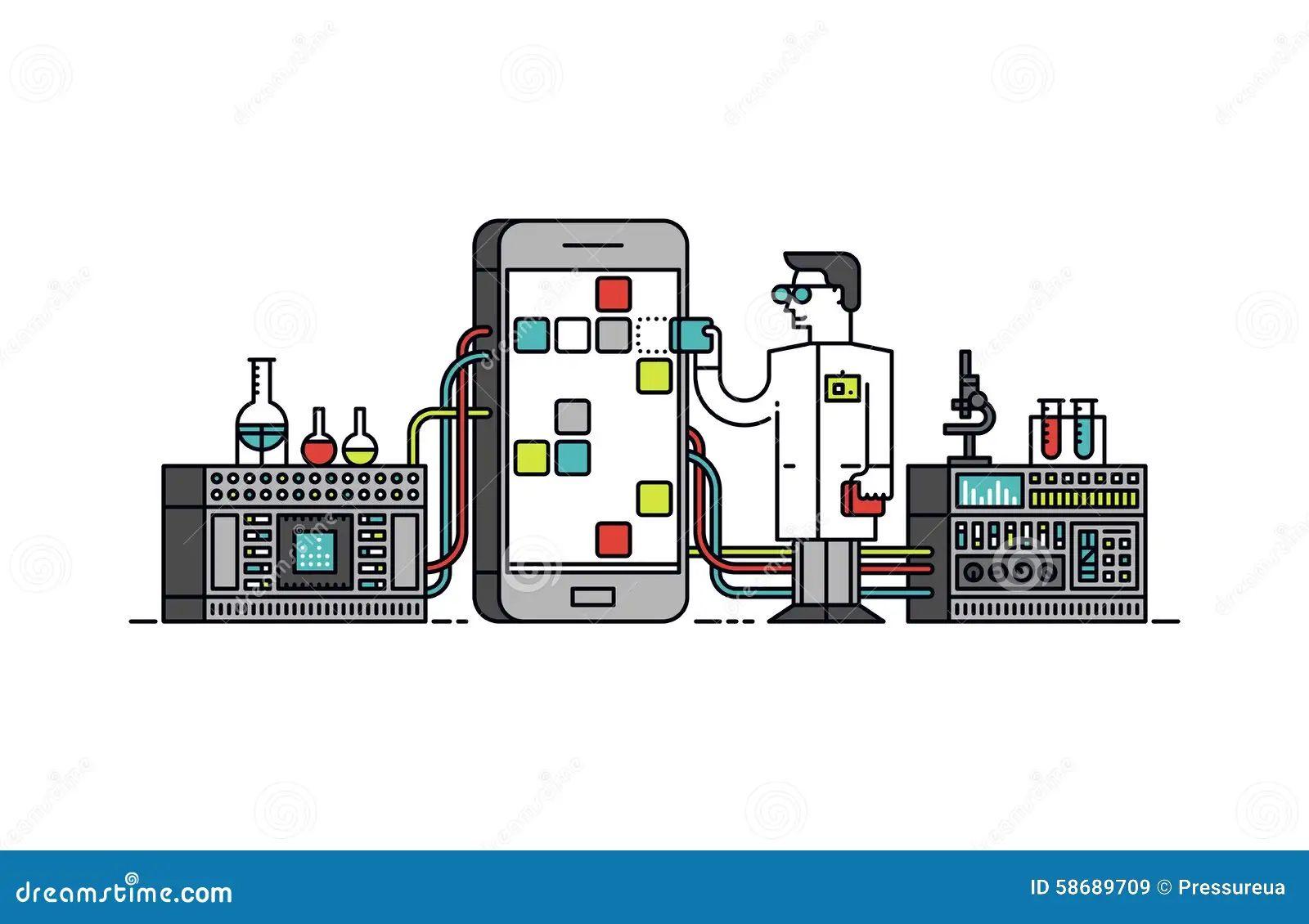 phone service diagram