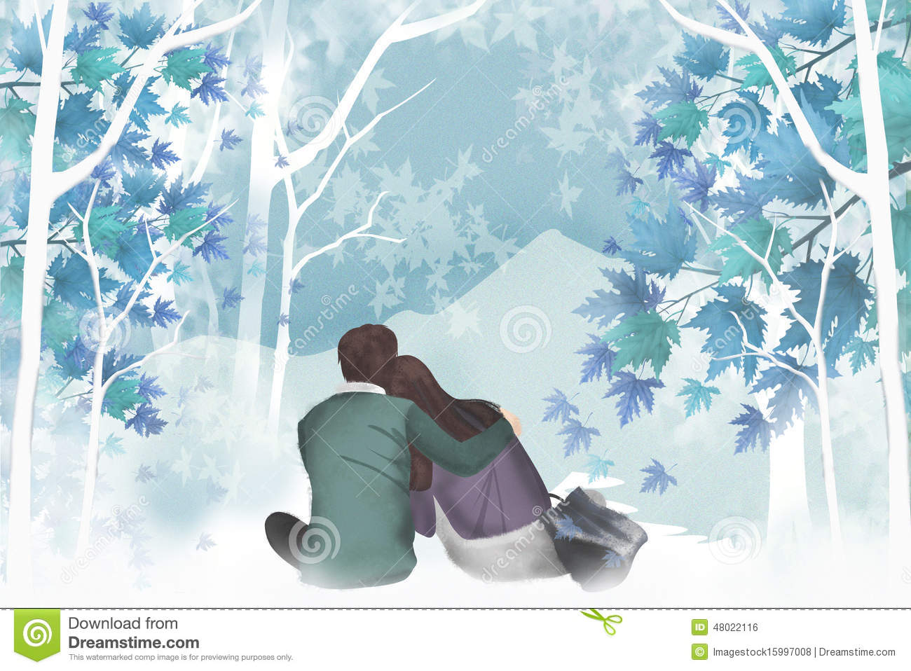 Sweet And Cute Couple Wallpaper Appearance Of The Couple Rests On The Shoulders Of A Man