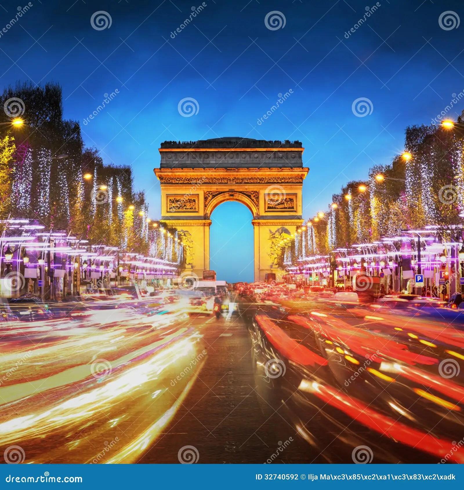 Audio Car Wallpaper Download Arc De Triomphe Paris City At Sunset Arch Of Triumph And