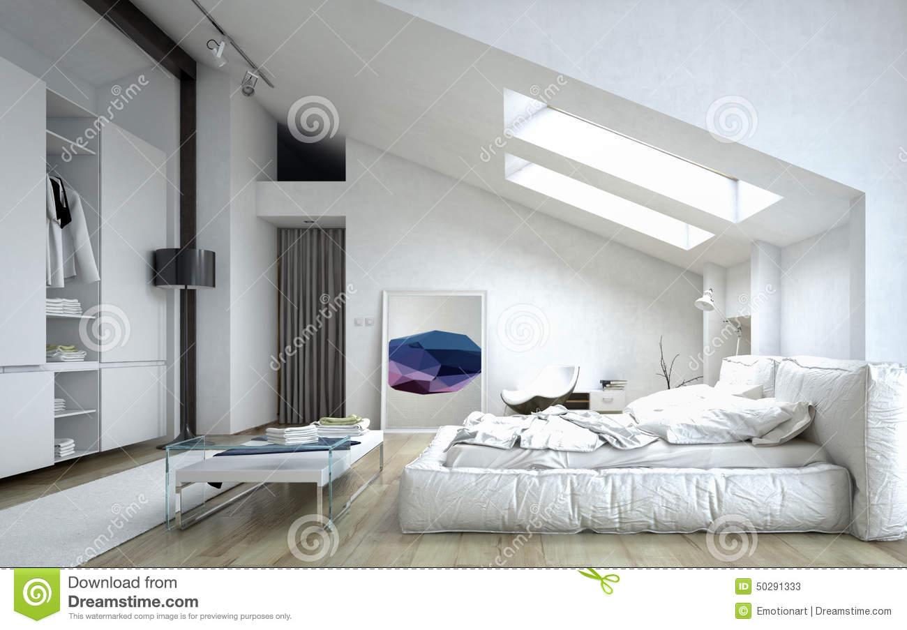 Doppelbett Clipart Architectural Bedroom Inside White House Stock