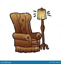 Armchair cartoon stock vector. Image of designer, classic ...
