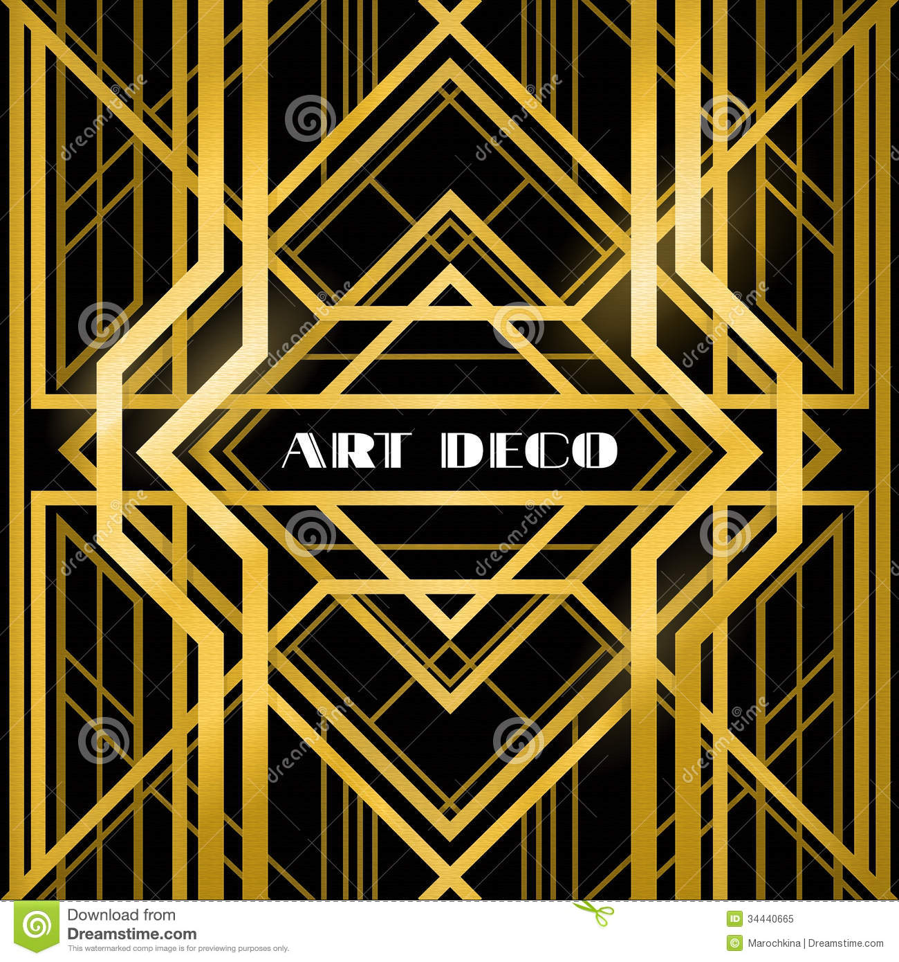Photo Art Deco Art Deco Grille Stock Vector Image Of Border Frame