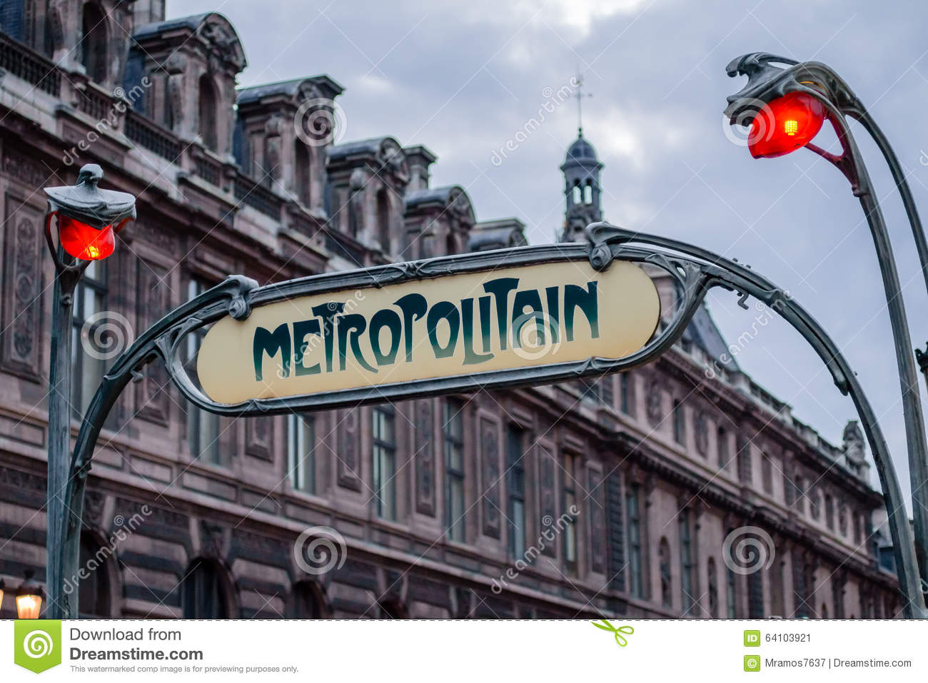 Arts Deco Paris Art Deco Metro Station Sign In Paris France Stock Image