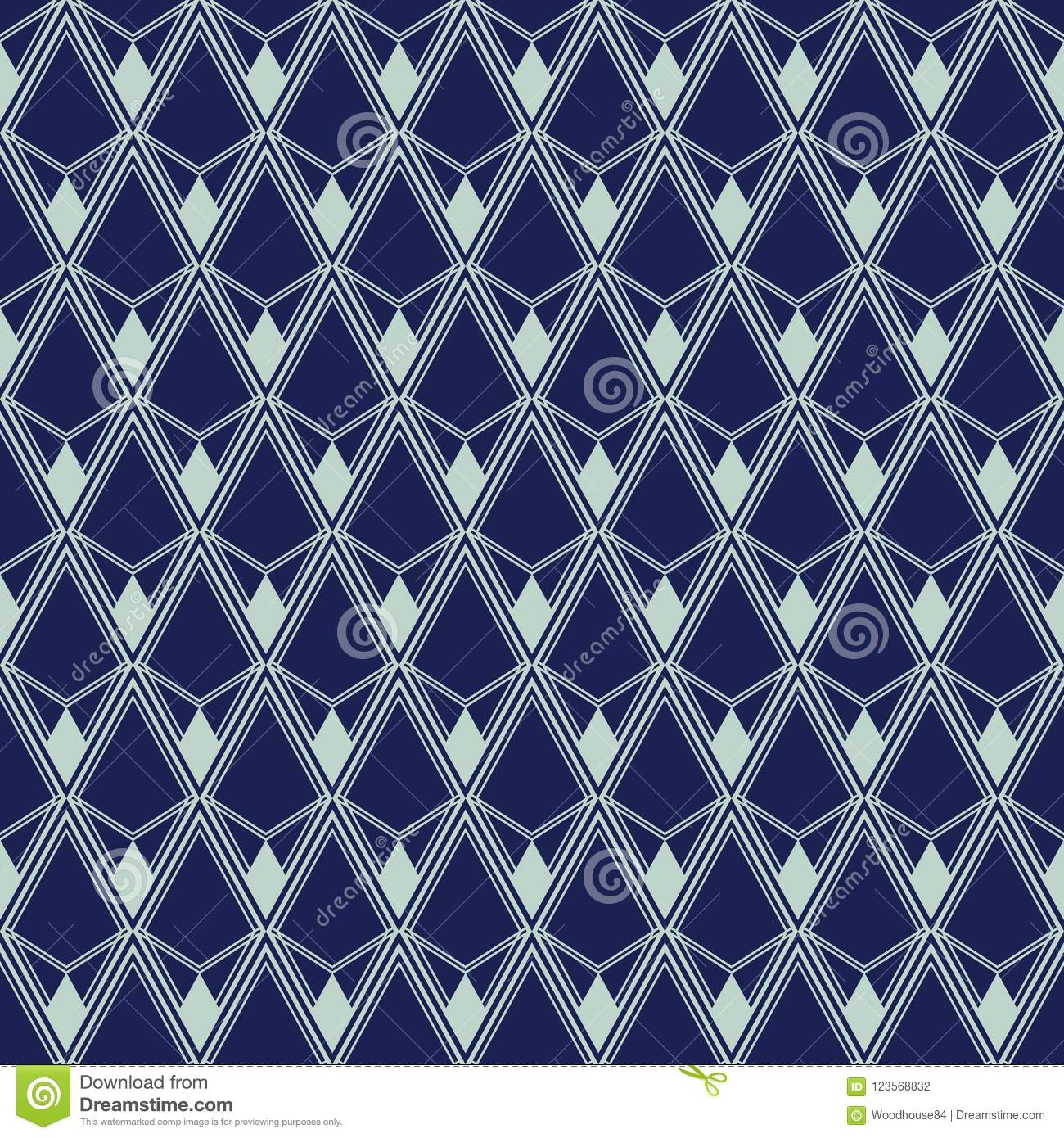 Decoration Art Deco Art Deco Seamless Pattern Geometrical Background For Design