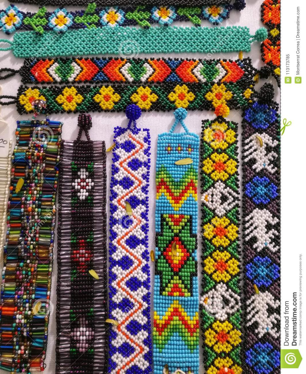 Arte Huichol For Sale Arte Huichol Stock Image Image Of Colorful Ethnicalgroups