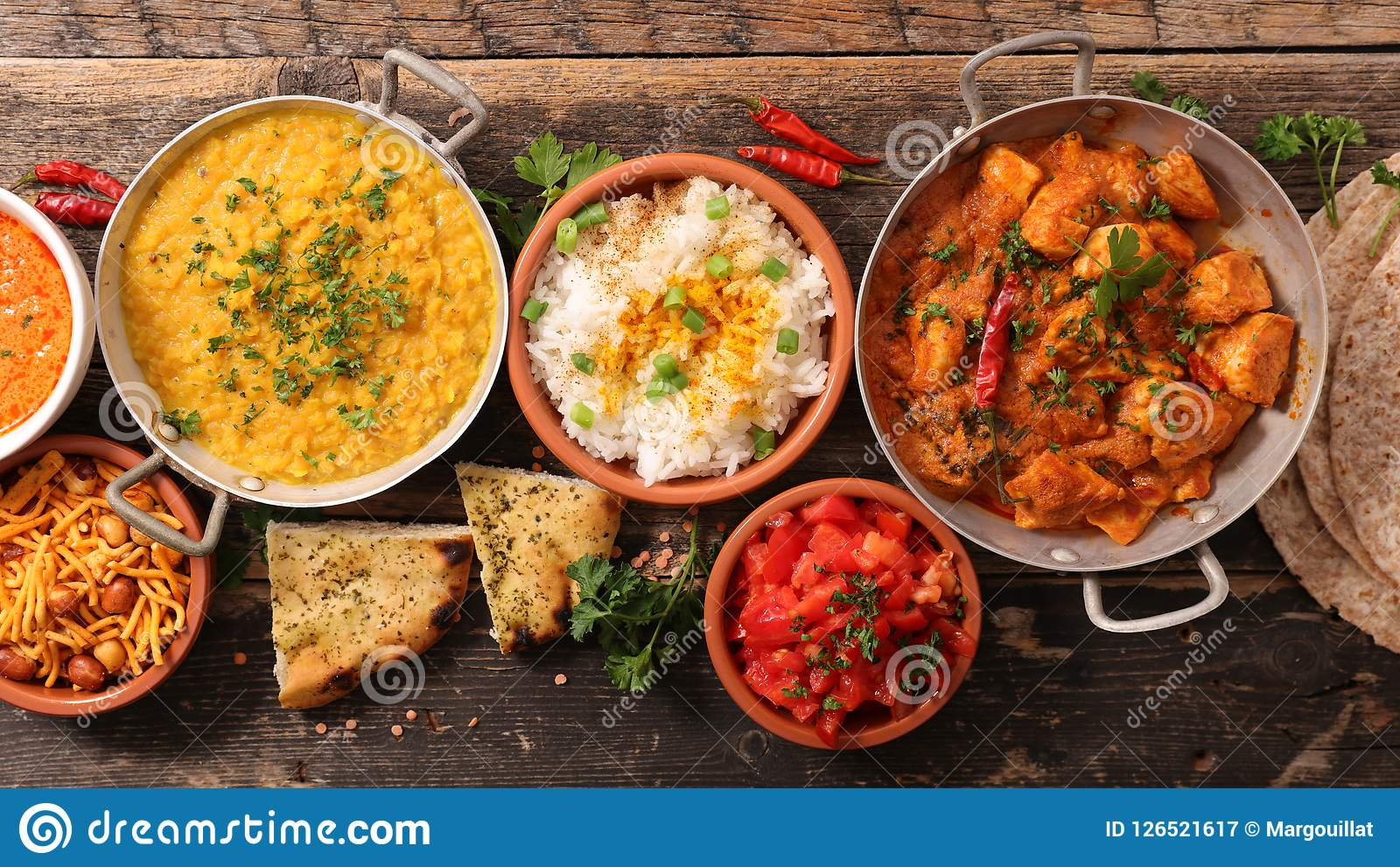 Cuisine India Assorted India Food Cuisine Stock Image Image Of Chicken Tomato
