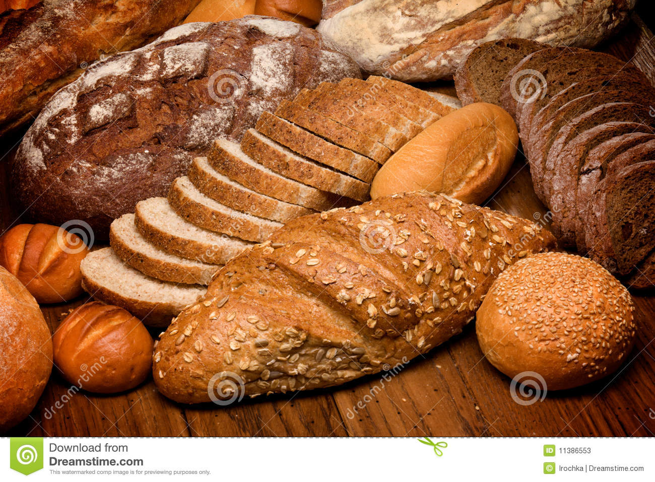 Bakery Wallpaper Hd Assortment Of Baked Bread Stock Image Image Of Cereal