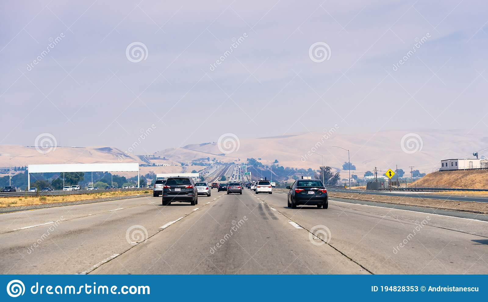 Aug 22 2020 Concord Ca Usa Busy Highway Traffic In East San Francisco Bay Area Smoke From The Lnu Lightning Complex Editorial Stock Photo Image Of Fire Highway 194828353