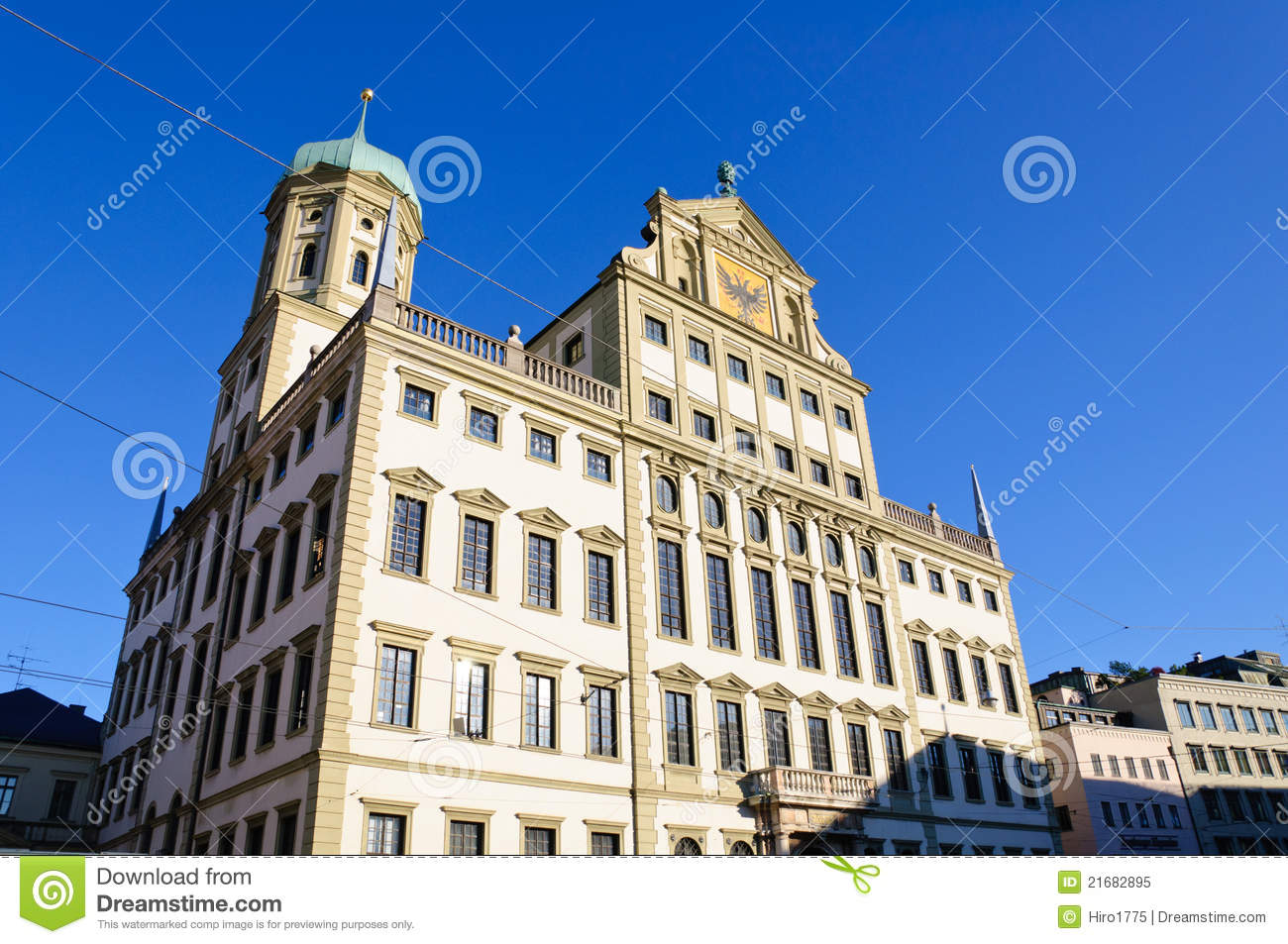 Elements Augsburg Augsburg Germany Royalty Free Stock Photo Image 21682895