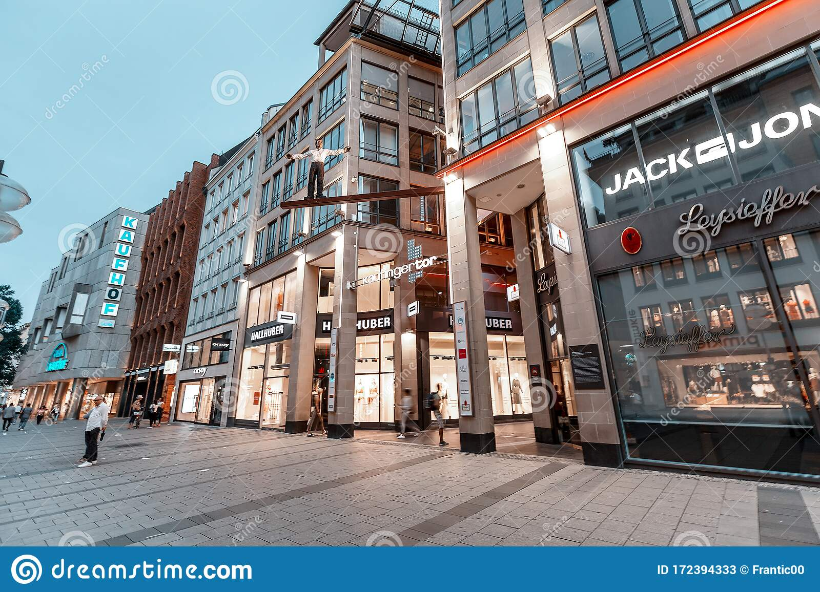 Kaufingertor Passage Shopping Mall At Evening Editorial Stock Photo Image Of Indoor Building 172394333