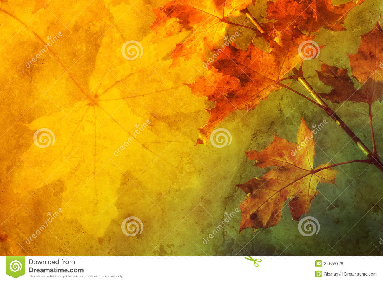 Free Falling Leaves Live Wallpaper Autumn Abstract Royalty Free Stock Image Image 34555726
