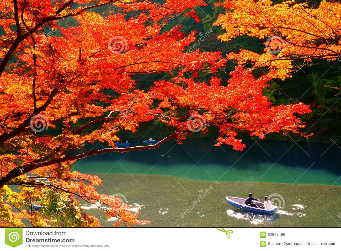 Fall Wallpaper For Windows Autumn Colours In Kyoto Stock Photo Image Of City