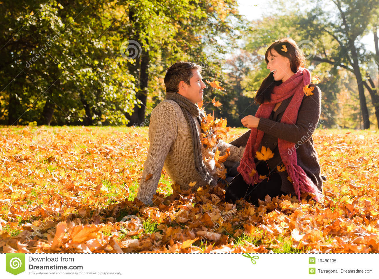 Fall Woods Wallpaper Autumn Couple Stock Image Image Of Leaf Outdoor