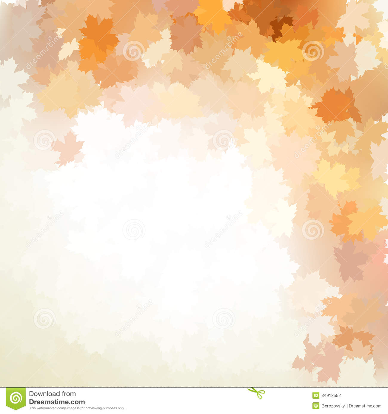 Falling Leaves Wallpaper Free Download Autumn Design Background With Colorful Eps 10 Stock