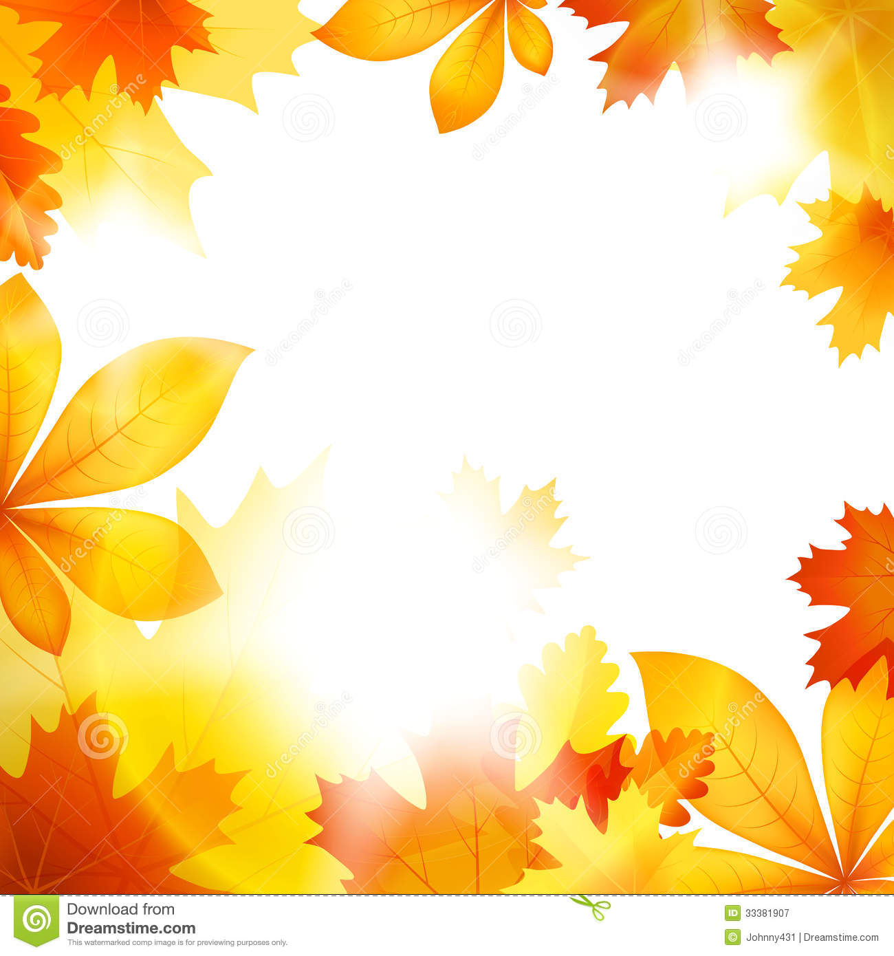 Purple Falling Circles Wallpaper Autumn Leaf Fall Stock Vector Image Of Leaves Garden