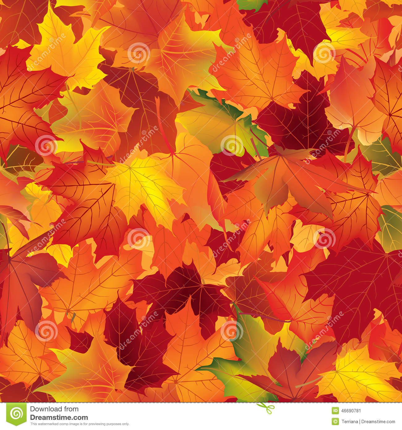 Falls Hd Wallpaper Free Download Autumn Texture Fall Pattern Wallpaper With Maple Leaves