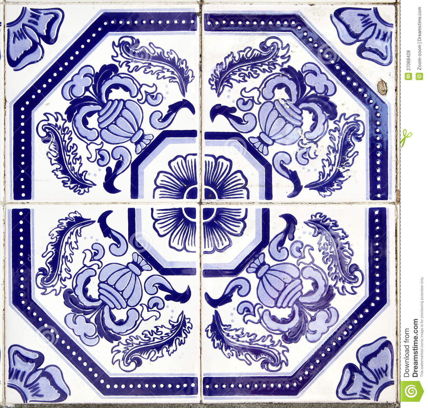 Azulejos Azulejos Royalty Free Stock Photos Image 27068428